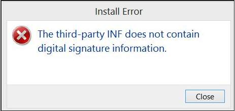inf-does-not-install